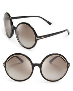 064596ae5bb Tom Ford Carrie Oversized Round Sunglasses Jewelry   Accessories -  Bloomingdale s