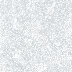 Garambola Grey wallpaper by Vallila