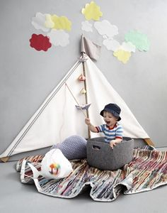 Adorable idea for a children's bedroom or playroom Cool Baby, Baby Love, Newborn Bebe, Activities For Kids, Crafts For Kids, Do It Yourself Design, Ideas Geniales, Kid Spaces, Children Photography