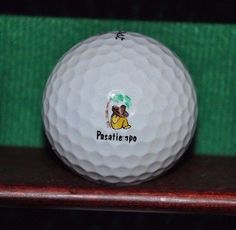 Pasatiempo Golf Club logo golf ball. Titleist