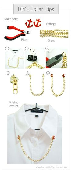 DIY: Collar Tips !