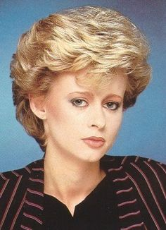 Outstanding 80S Hairstyles Hairstyles And Woman Hairstyles On Pinterest Short Hairstyles Gunalazisus