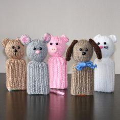 OFFERED FOR SALE IS THE PATTERN ONLY. I am sick of throwing out the boxes from Tic Tacs all the time and have now found a new use for them. Knit these animals to place over the boxes. They have many uses: a cover for your Tic Tacs in you handbag a tooth box for the tooth fairy