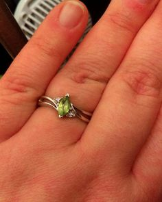 Check out #MarquiseCut #Peridot #Stone, #Sterling #Silver #Ring, Size 8 .02 ct  http://www.ebay.com/itm/-/252773069472?roken=cUgayN&soutkn=ZrOE4q via @eBay #FASHION #VINTAGE #MODEST