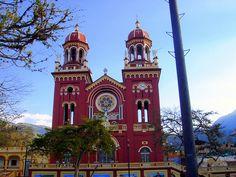 Colombia - Iglesia de Caqueza Cundinamarca.