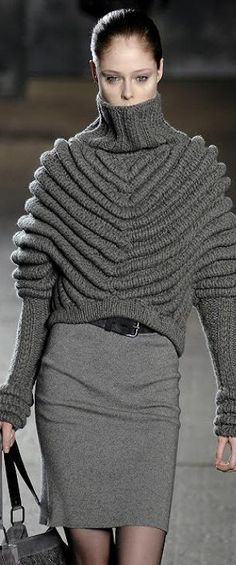 Runway knitted style ♕BOUTIQUE CHIC♕