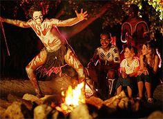 Tjapukai aboriginal cultural park in Cairns.