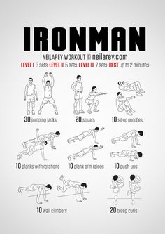 Ironman inspired workout