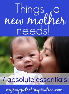 These 7 things I could not live without as a new #mother! They helped me to cope and get through those few weeks with a new #baby.