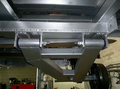 Heavy Duty Suspension fitted to Chassis