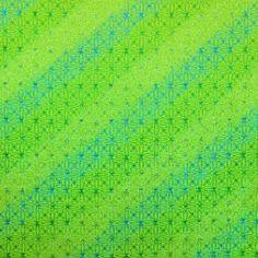 Lycra Purpurina Verde Fluor