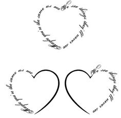 Don't like that it's in the shape of a heart but I really like the saying.. And it reminds me of you @Mackenzie Molzhon Bertsch! Tattoo time..?! :D