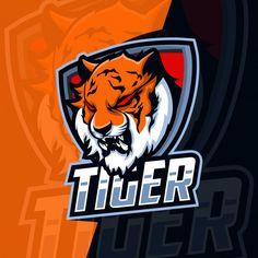 Logo Desing, Game Logo Design, Edit Logo, Esports Logo, Sports Team Logos, Youtube Banners, Affinity Designer, Animal Heads, Logo Maker