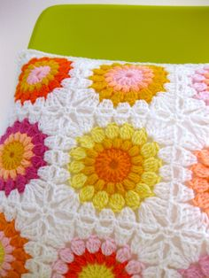 What a lovely response to my Sunburst Pillow! Thank you everyone!! The colour kits are now ready to ship! Each kit contains the colours above + a ball of white to trim! Cost: $20 AUD + shipping. Sh…