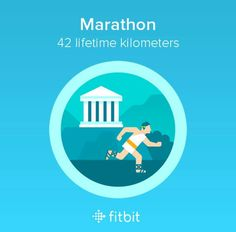 Yay! I earned another new badge from the Fitbit App & Fitbit Wristwatch Today! The Marathon 42 lifetime kilometers badge! I'm oh so very proud of myself! 😀🙂☺️😌😉😍😘❤️💙💜💚💛💖💓💘💕💗💝💞💌💋❣️🌈