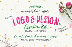 Awesome Logo & Design Creation Kit by SNIPESCIENTIST on @creativemarket
