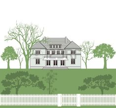 House and land ownership Stock Vector
