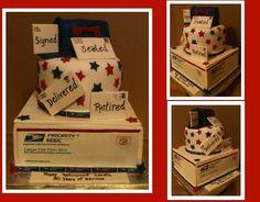 USPS Retirement Cake — Retirement