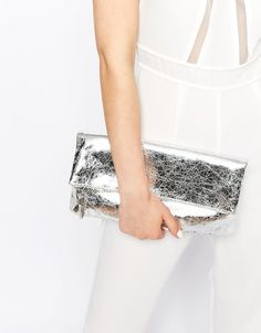 We'd love to get a clutch of this metallic piece from New Look.