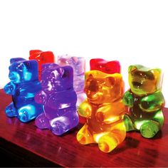 Gummi Bear lamps