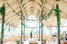 Wedding Venue - Greenery wedding at Hexham Winter Gardens   Images by Sarah-Jane Ethan Photography