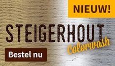 Nieuw! Steigerhout Colorwash