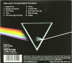 Back of The Dark Side Of The Moon