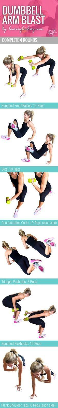Biceps, Triceps & Shoulders (ConfidenceKini Challenge) - 5/20 | Lauren Gleisberg | Bloglovin'