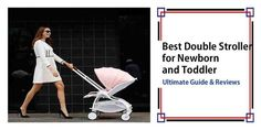 Best Double Stroller for Newborn and Toddler in 2017 - Pink Stroller - Ideas of Pink Stroller - Best Twin Strollers, Cheap Baby Strollers, Baby Girl Strollers, Double Baby Strollers, Best Double Stroller, Running Strollers, Baby Prams, Jeep Stroller, Baby Jogger Stroller