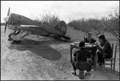Polikarpov I-16 in Spanish Civil War.