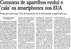 Consumo de smartphones...