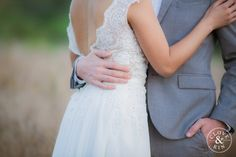 Love these sweet details of her wedding dress.   Bommer Canyon Wedding, Photography by Clove and Kin