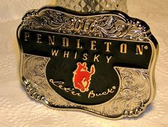 Pendleton Whiskey 2016 Belt Buckle Cowboy Rodeo Montana Silversmith | Clothing, Shoes & Accessories, Men's Accessories, Belt Buckles | eBay!