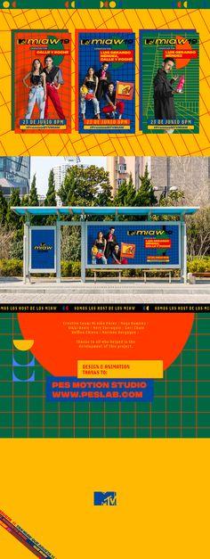 Key Art Hosts MTV Miaw 2019 on Behance Graphic Design Posters, Graphic Design Illustration, Graphic Design Inspiration, Retro Design, Layout Design, Ad Design, Wallpaper Quotes, Wallpaper Backgrounds, Wallpaper Desktop