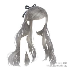 Anime hair long with braid