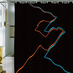 End Of Line Shower Curtain