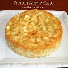 Delicate rum batter surrounds delicious apple pieces in this delicious french apple cake.
