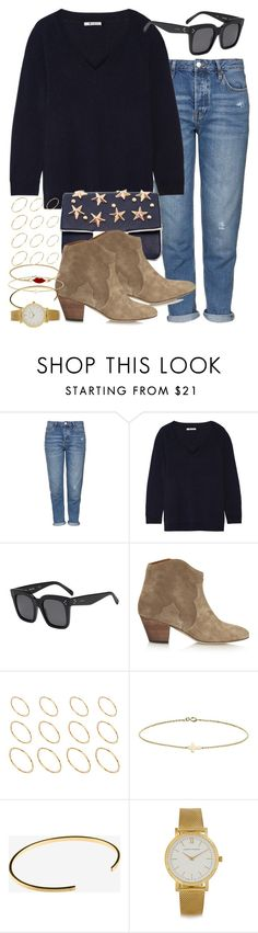 """""""Sin título #3714"""" by hellomissapple on Polyvore featuring moda, Topshop, T By Alexander Wang, CÉLINE, Isabel Marant, ASOS, Minor Obsessions, Le Gramme y Larsson & Jennings"""
