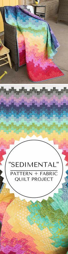 True Colors Sedimental quilting project