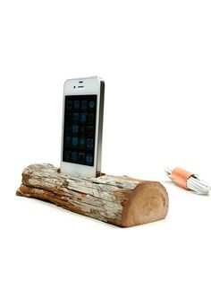 Docksmith - Driftwood iPhone/iPod Charging Dock 57 | VAULT