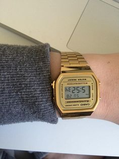 no - Mulighetenes marked Gull, Casio Watch, Watches, Fashion, Moda, Wristwatches, Fashion Styles, Clocks, Fashion Illustrations