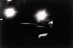 William Claxton  Bill Evans, (Spotlights), Hollywood, 1962  16 x 20 Silver Gelatin Photograph, Ed. 25