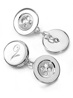 Gift guide for dad :: Cosmopolitan UK Designer Silver Jewellery, Silver Jewelry, Presents For Dad, Gifts For Dad, London Christmas, Silver Buttons, S Girls, Gift Guide, Jewelry Collection