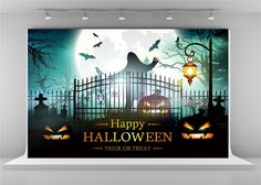 Purchase Happy Halloween Photography Backdrops Moon Ghost Background Night Pumpkin Backdrop from Andrea Marcias on OpenSky. Share and compare all Electronics. Halloween Photography Backdrop, Halloween Backdrop, Photography Backdrops, Halloween Trick Or Treat, Happy Halloween, Halloween Backgrounds, Scary, Pumpkin, Night