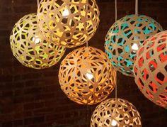 David Trubridge lighting