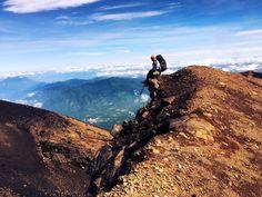 On top of the world!  @ger_gr9 #Featured #Shuttographer #StaffPick #mountains #bluesky #climbing #outdoors #adventures #ontopoftheworld #view
