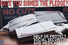 Have you signed our pledge to help protect #SocialSecurity and #Medicare?    Click the graphic or this link to sign the pledge:  http://www.thetruthnow.org/Pledge