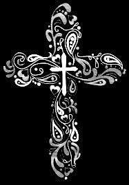 Swirl cross tattoo ideawould make a cool tattoo!