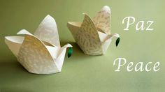 Origami Peace-Dove Box :: Cajita Paloma de la Paz