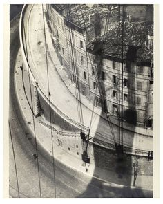 """""""Herbert Bayer View from the Pont Transbordeur Marseille 1928 """""""